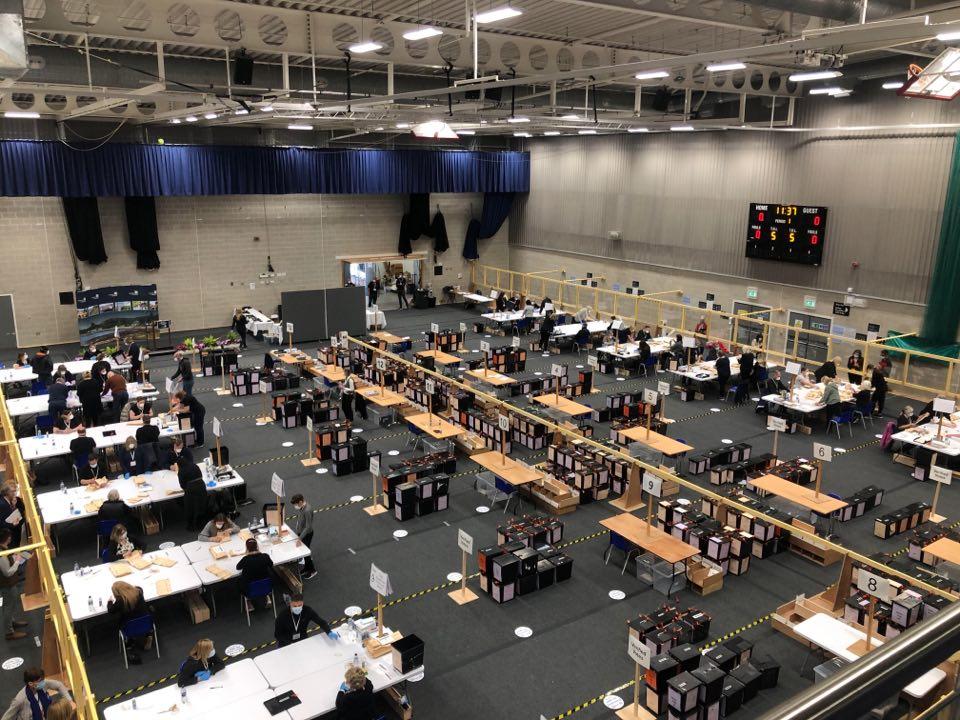 Election 2021: Vote count gets underway in Dumfries