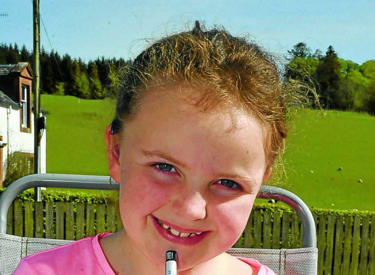 Brooke, 8, calls out litter bugs