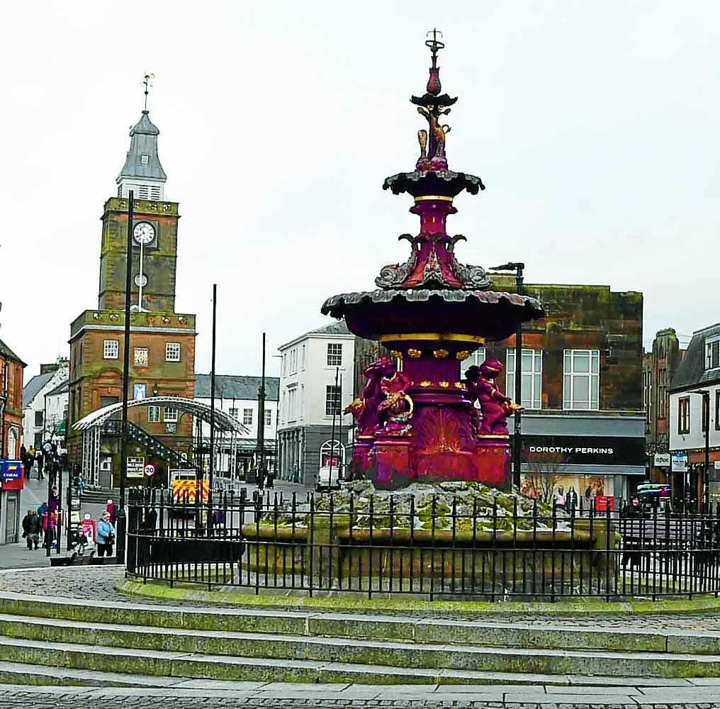 £400k pricetag for fountain  revamp plan