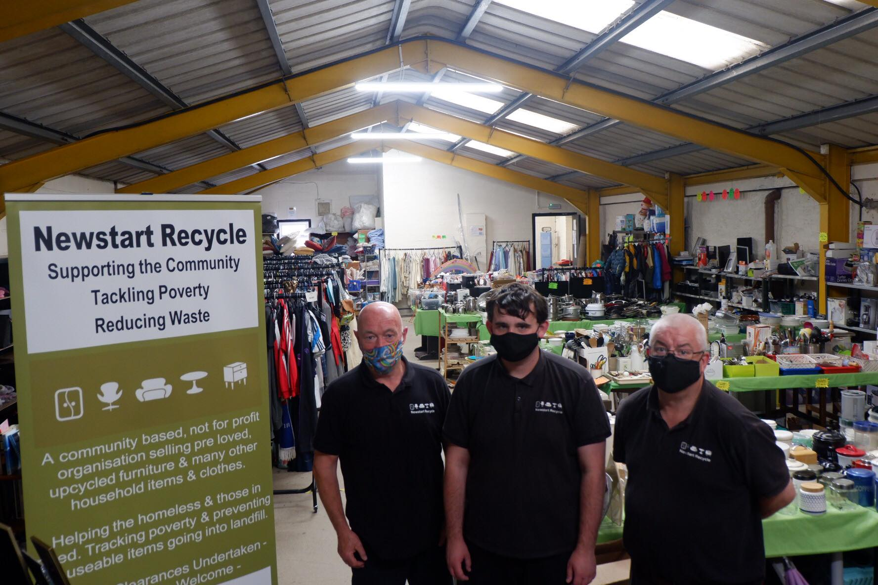 Charity keeps busy in fight against poverty and waste