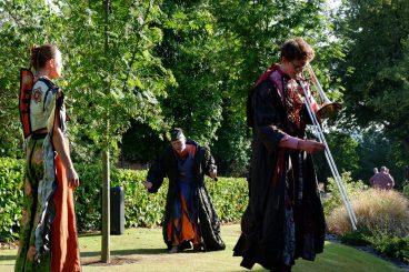 Arts fest launch enjoys perfect conditions