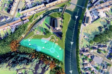 Town's £10m flood plans to go on show