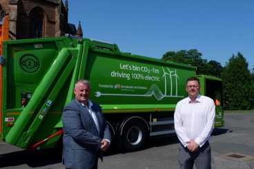 Region leads the way with electric bin lorries