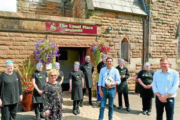 Party leader enjoys holiday visit to Dumfries