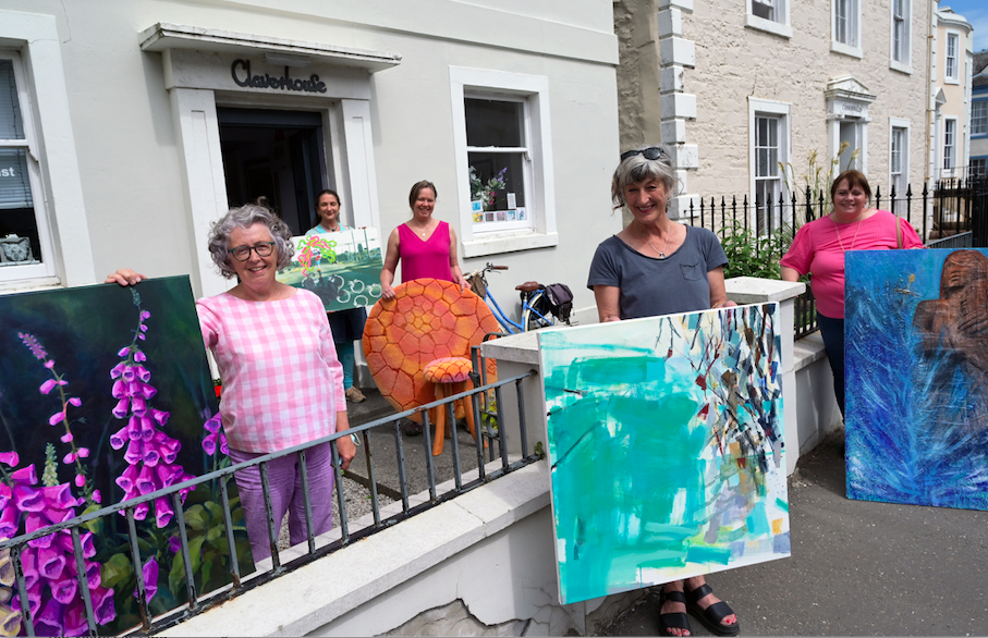Local artists on show