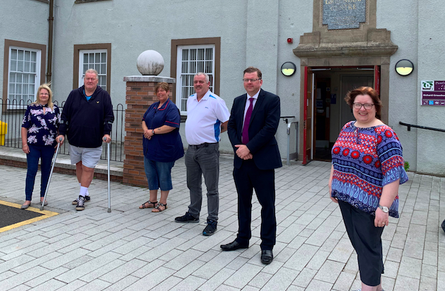 Gretna Day Centre make bid to take on Post Office