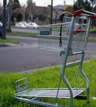 Lincluden is a trolley dump hotspot