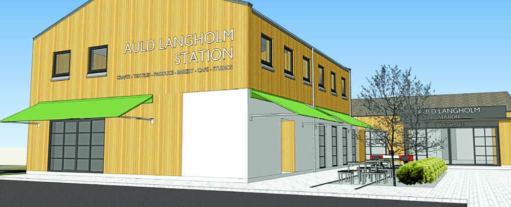 All systems go for Langholm development