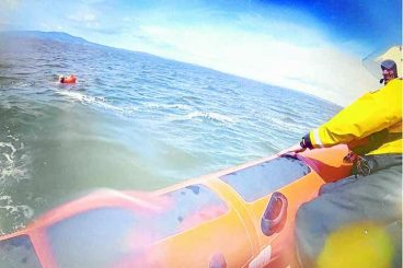 Lifeboat keen for update on Solway swimmer
