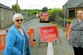 'Hazardous' find halts repairs