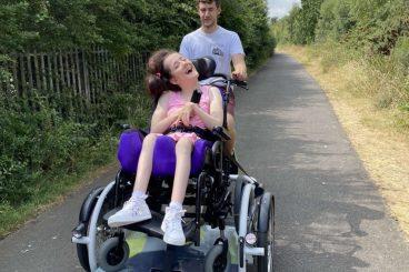 Niece sets up disability bike fundraiser