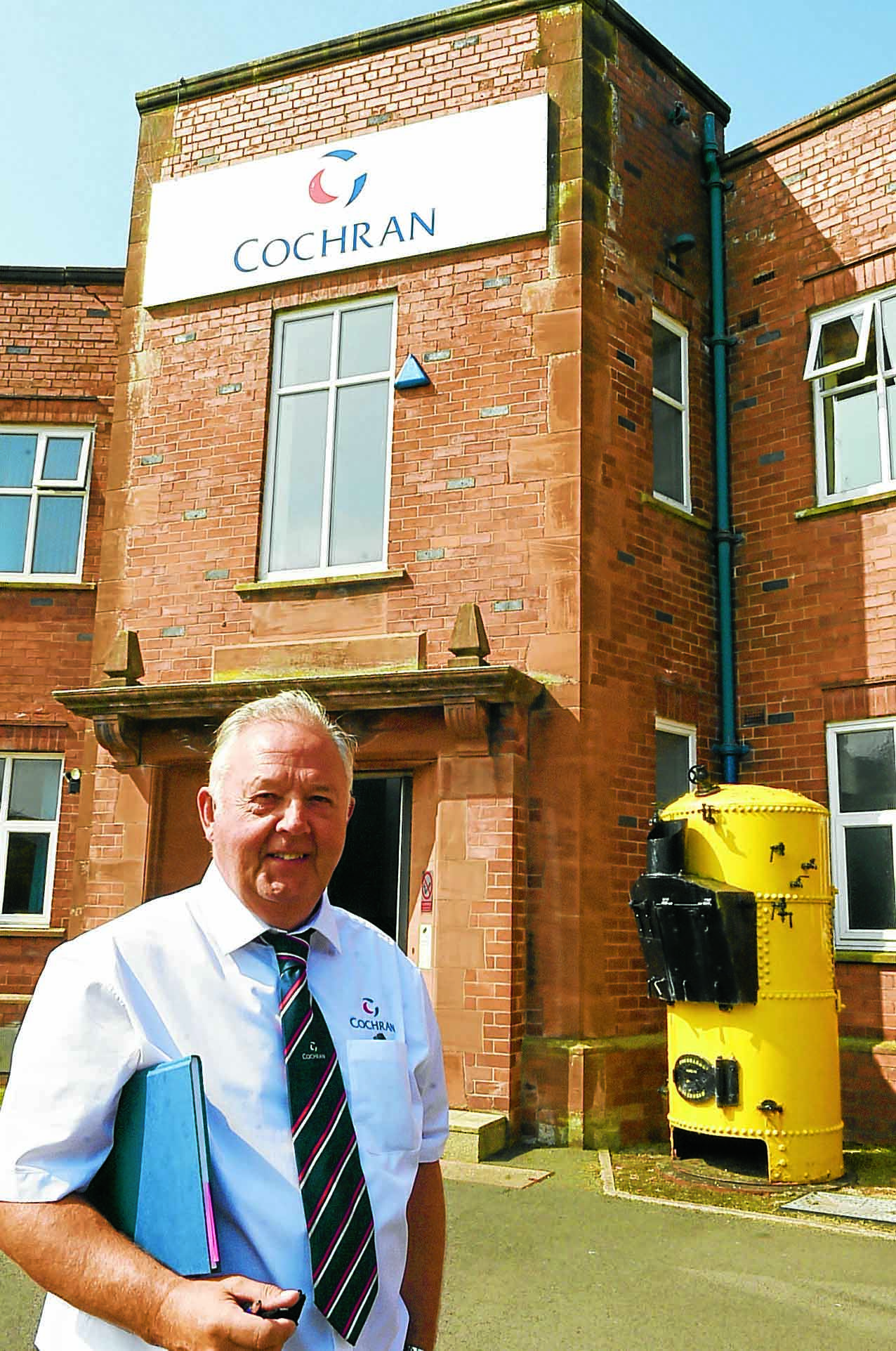 Boiler firm shares story in new display