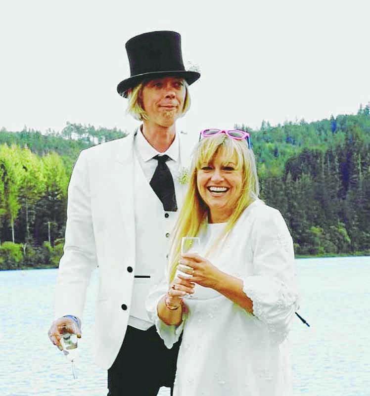 Fashion forward couple tackle the future