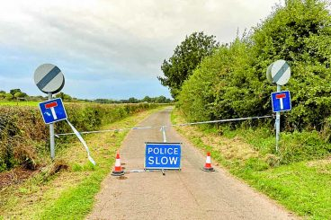 Police appeal after human remains found