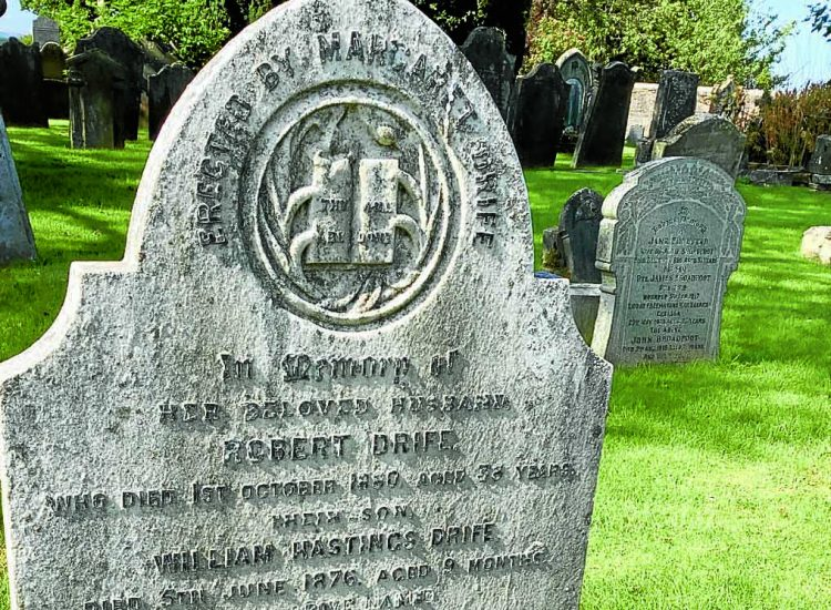 Gravestone 'tampering' sparks anger