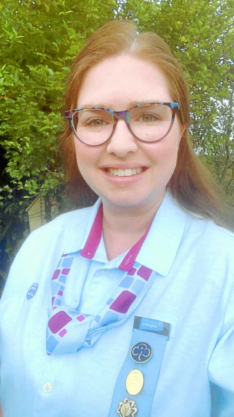 Girlguides come together under one badge