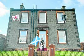 Philip flies the flag for the South of Scotland