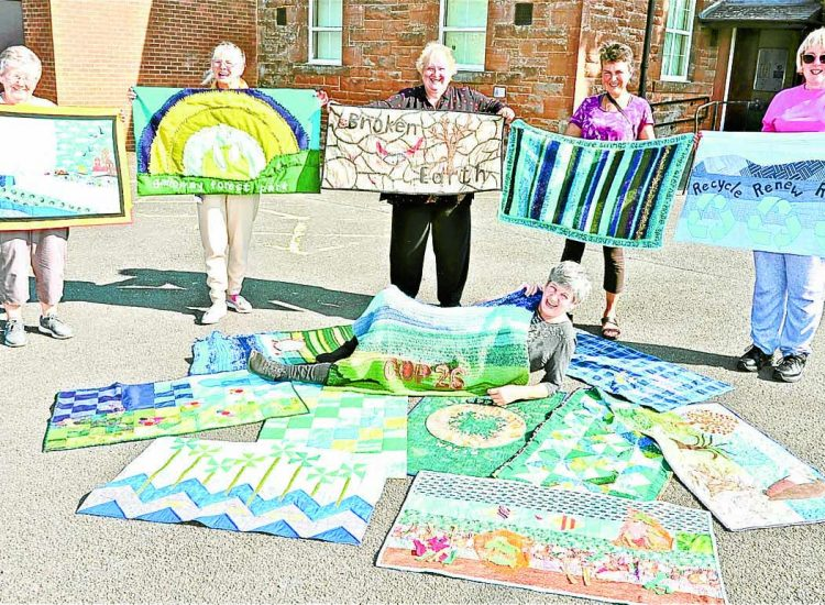 Quilters have climate change challenge sewn-up