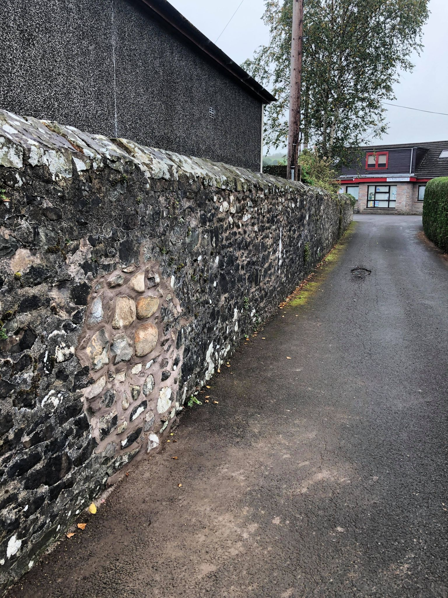 Historic wall was wrongly repaired, says trust