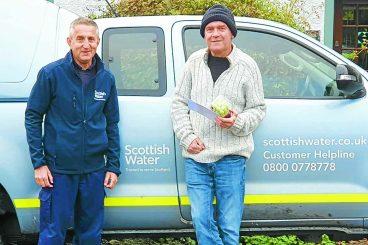 Poet praises water worker rescuer