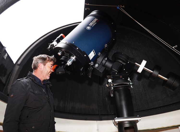 Community observatory opens in Moffat
