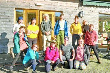 COP26 walkers hit the region