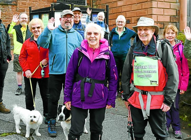 Pilgrim route is launched