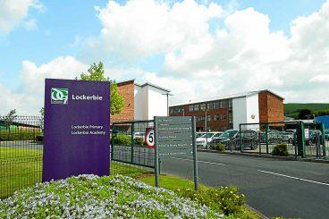 Schools out at Lockerbie