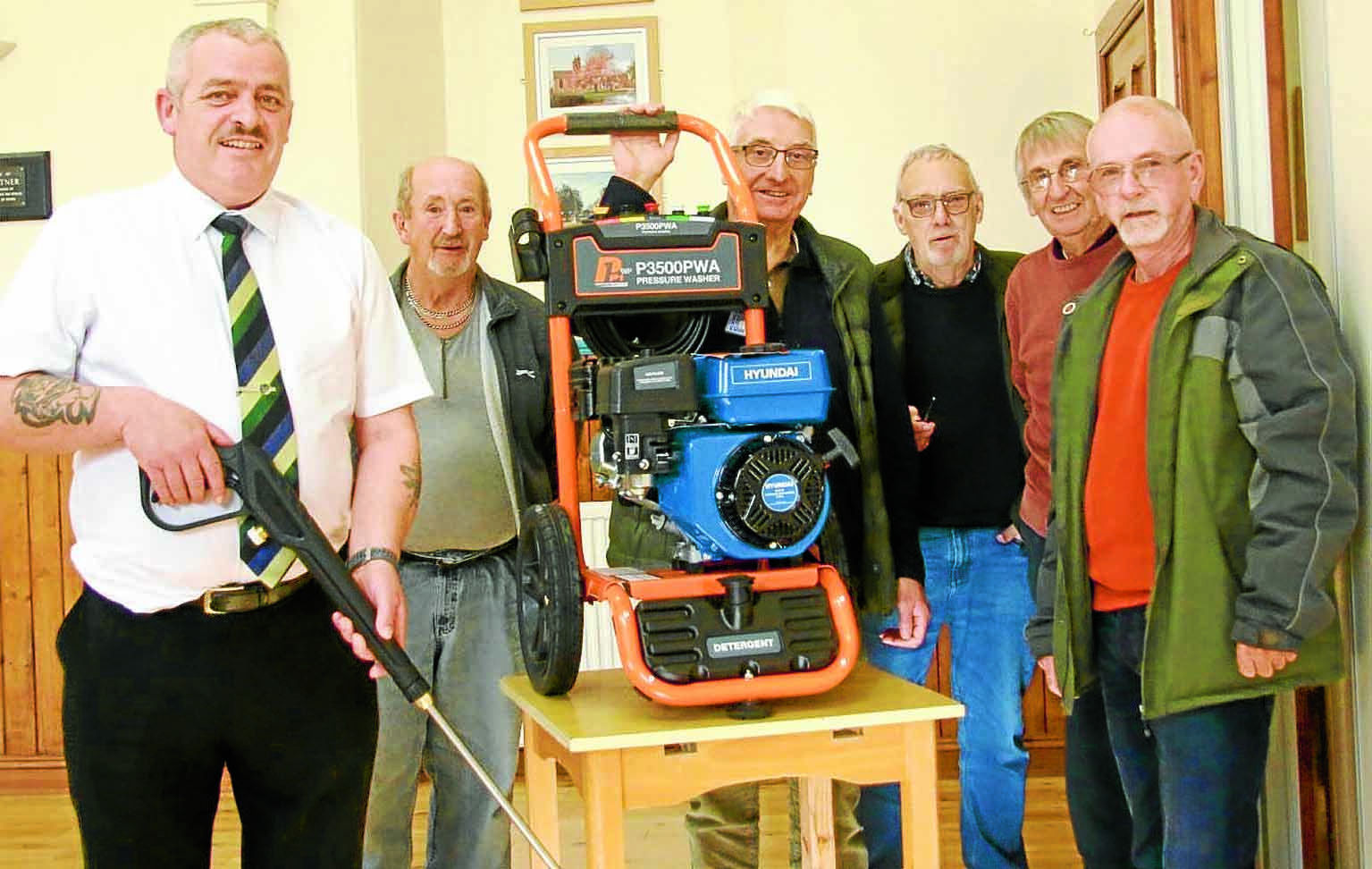 Men's Shed powers on